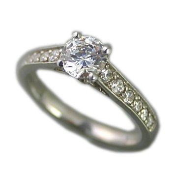 婚約指輪 ダイヤモンド プラチナ 0.7ct GIA鑑定書付 0.70ct Dカラー VS1クラス 3EXカット GIA サイズ18号