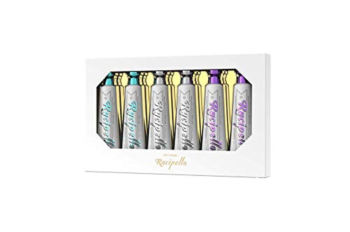 タイル誤解ウミウシ[ルチペッロ] Rucipello ミニ歯磨き粉6個のプレゼントセット 25g x 6本 (海外直送品)