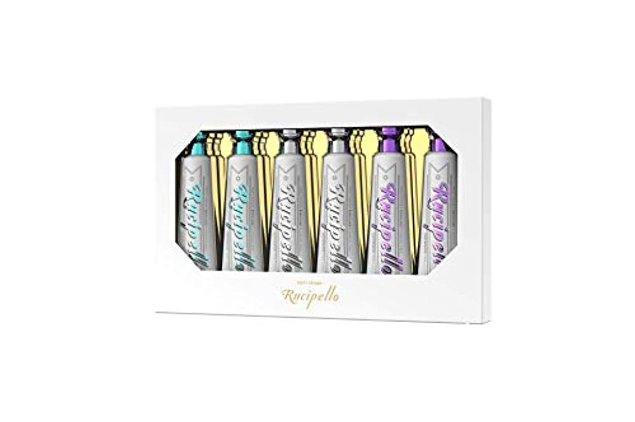 狂乱寂しい感じる[ルチペッロ] Rucipello ミニ歯磨き粉6個のプレゼントセット 25g x 6本 (海外直送品)