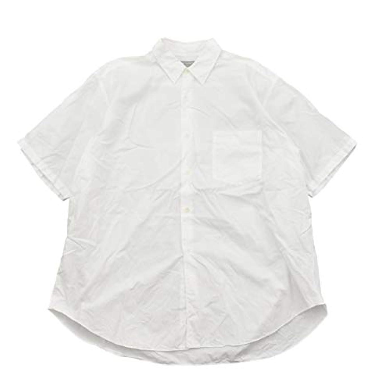 プロフェッショナルワゴン育成(コムデギャルソン オム) COMME des GARCONS HOMME 80~90s AD1989 ワイドブロード 半袖シャツ