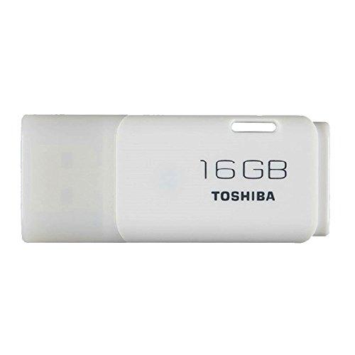 東芝 TOSHIBA 16GB USBフラッシュメモリ Windows/Mac対応 【2年保証】(16GB-1個, ホワイト) [並行輸入品]