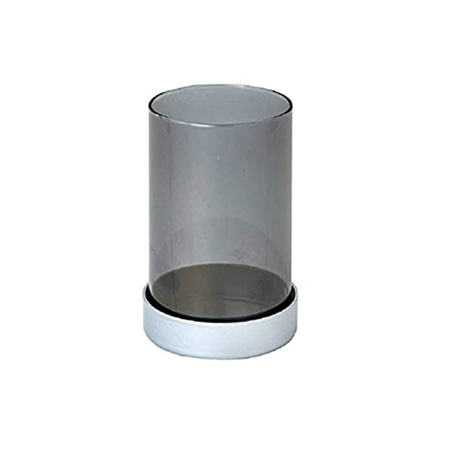 上流の皿マイルストーンカメヤマキャンドルハウス シャインキャンドルランプ SJ6530000SIG SIグレー 6個入り