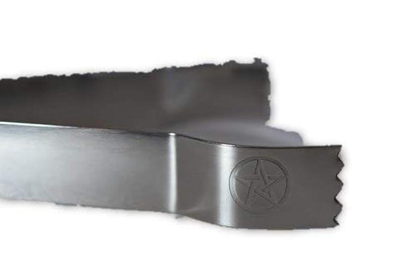 壊滅的な解凍する、雪解け、霜解け驚いたことにSTAR Engraved Tongs for use withチャコールタブとIncense樹脂tool-ツールfor Blessings、クリア負Energies、しみ、Healing