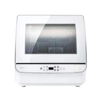 アクア 食器洗い機(ホワイト)【食洗機】【送風乾燥機能付き】 AQUA ADW-GM1-W