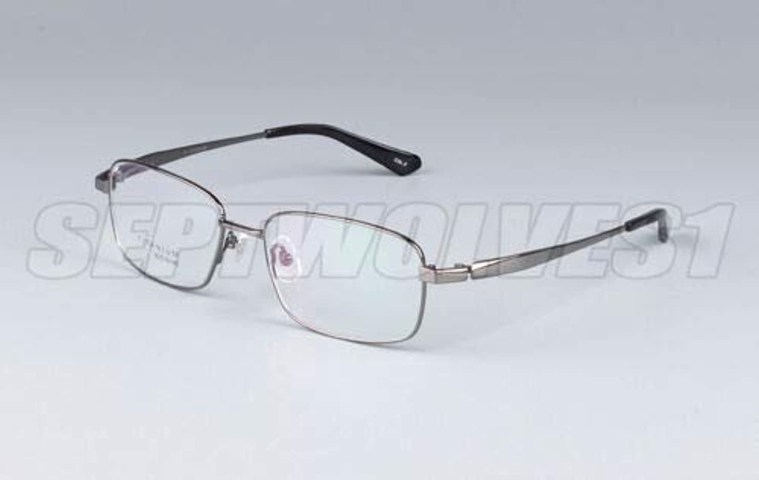 司教ショッキングプレゼントFidgetGear メンズ純チタン老眼鏡UV400コーティングレンズリーダー+0.00?+ 5.00 ガンメタル