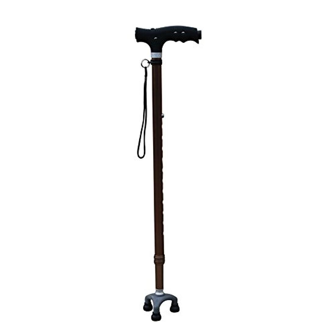 始まり請求可能ラダ高齢者のための調整可能な歩行ケーンライト付き歩行杖これらの調整可能な杖と歩行スティックを自信を持って旅行,B