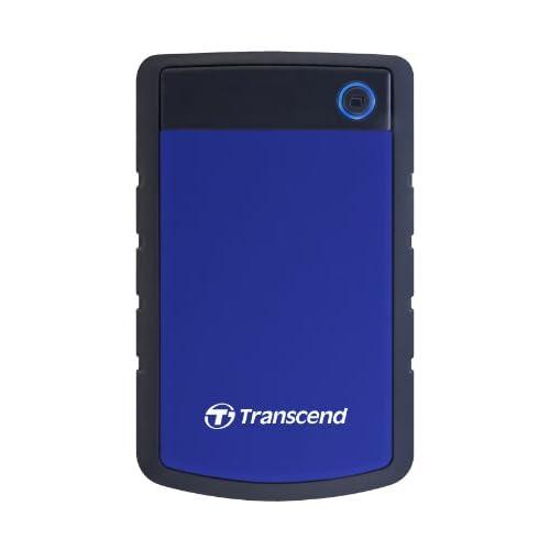 Transcend USB3.0 ポータブルHDD StoreJet2.5 2TB  TS2TSJ25H3B(ブルー)