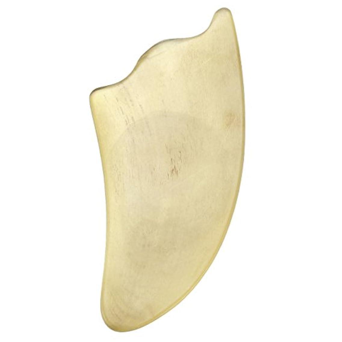 管理シンジケート牧師Jovivi Mak カッサリフトプレート 黄色 牛角 パワーストーン カッサ板 美顔 カッサボード カッサマッサージ道具 ギフトバッグを提供 (三角形)