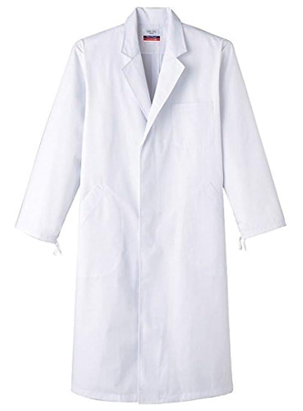 熱狂的な無駄ノイズサンペックスイスト 男性用検査衣 ドクターコート 長袖 シングル MR-110