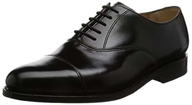 [バーカー] レースアップ 6644 Arnold  6644 Black Black UK 7(25.5cm)