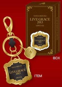 水樹奈々 【LIVE GRACE 2013 -OPUSⅡ-】 キーリング NM7