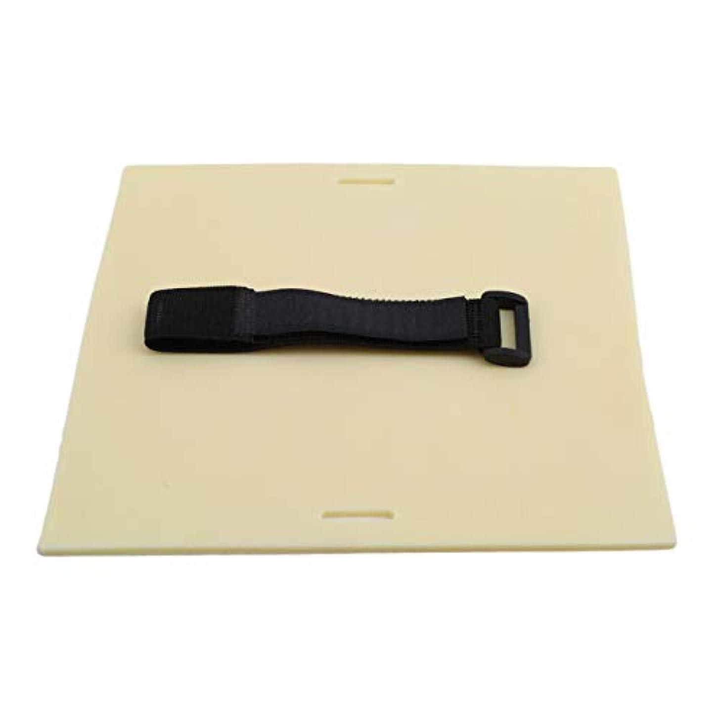 許容できる官僚振るBigsweety 1セットタトゥースキン 練習ダブルサイドなタトゥーアーティカラータトゥー練習肌 ストラップ付き (L)