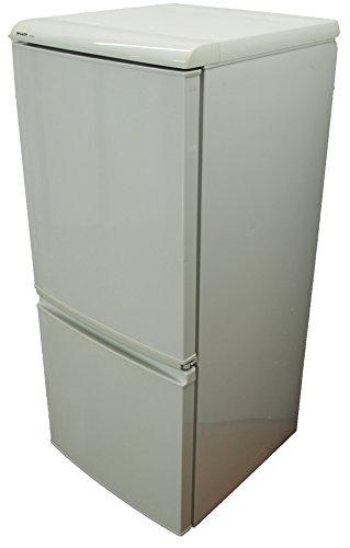 SHARPシャープ 135L 2ドア冷蔵庫 SJ-614-W 右開き ホワイト