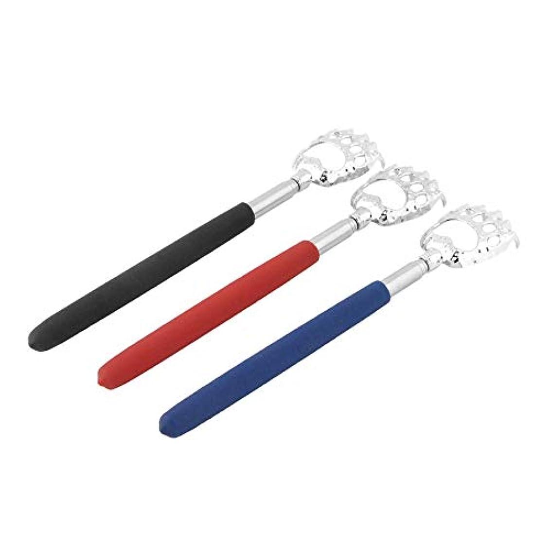 争いファシズムモデレータHot Selling 10pcs Bear Claw healthy Back Scratcher Zinc alloy Portable Extendable Handy Pocket Pen Clip Back Scratcher