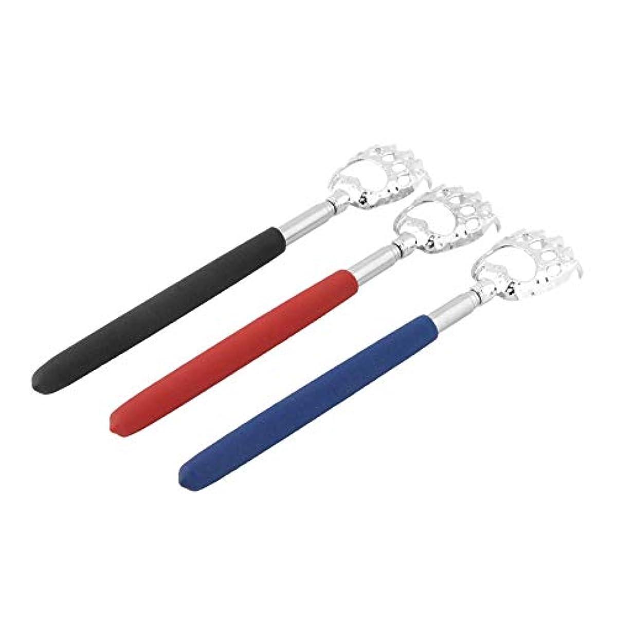 賢い起訴する賞賛Hot Selling 10pcs Bear Claw healthy Back Scratcher Zinc alloy Portable Extendable Handy Pocket Pen Clip Back Scratcher