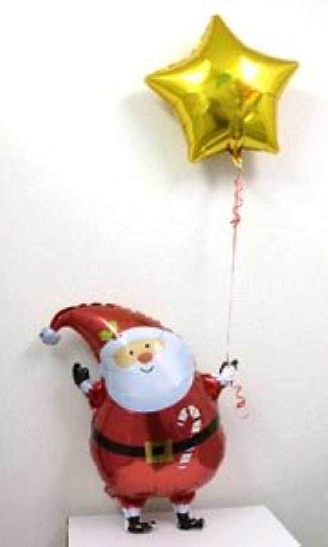 ハッピークリスマス【サンタクロース】 【ヘリウムガス入り?クリスマス用バルーンギフト】 [おもちゃ&ホビー]