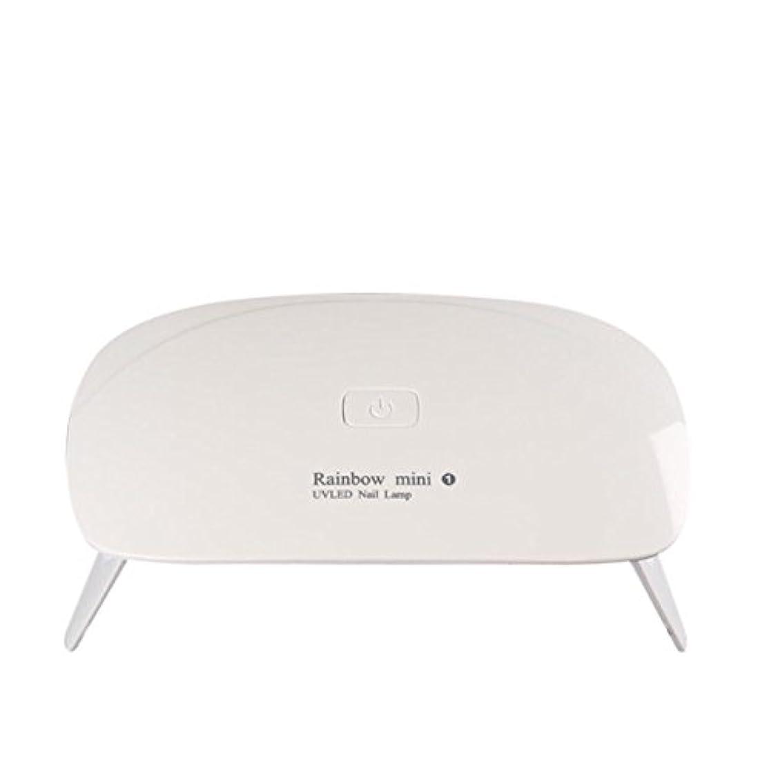 伝える関連付ける計画的【ネイルウーマン】LEDライト/UV硬化ライト 5W 折りたたみ式 コンパクト USB給電可能