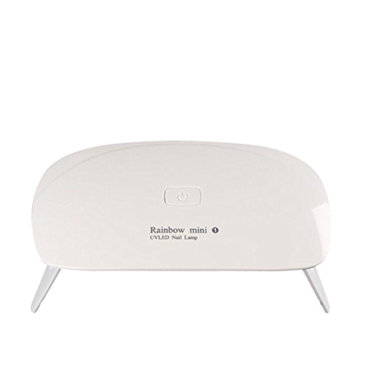 略語有能な共同選択【ネイルウーマン】LEDライト/UV硬化ライト 5W 折りたたみ式 コンパクト USB給電可能