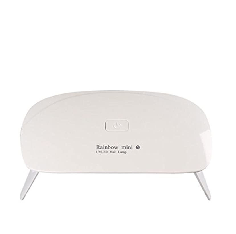 ステンレス影のある表示【ネイルウーマン】LEDライト/UV硬化ライト 5W 折りたたみ式 コンパクト USB給電可能