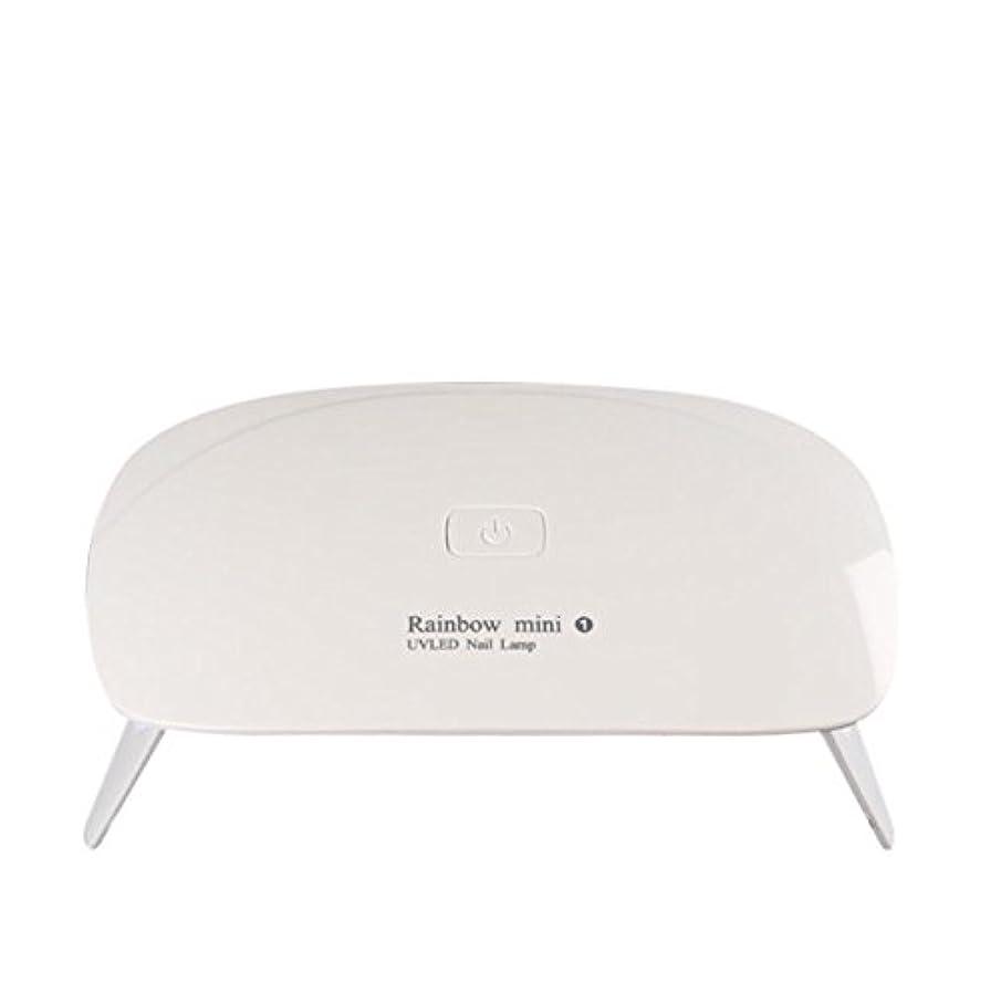 傑作構造的勤勉な【ネイルウーマン】LEDライト/UV硬化ライト 5W 折りたたみ式 コンパクト USB給電可能