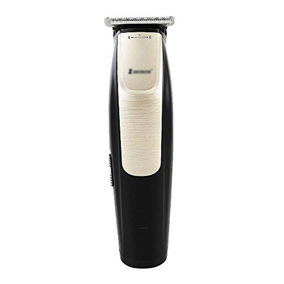 美的護衛慣れているWAKABAFK 充電式バリカン電動フェーダーT字型彫刻ナイフ脱毛クリッパートリマー自動シェーバー