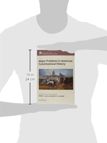 major problems in american constitutional history documents and essays Major problems in american constitutional history: documents and essays, volume i (major problems in american history series) by thomas paterson brand new.