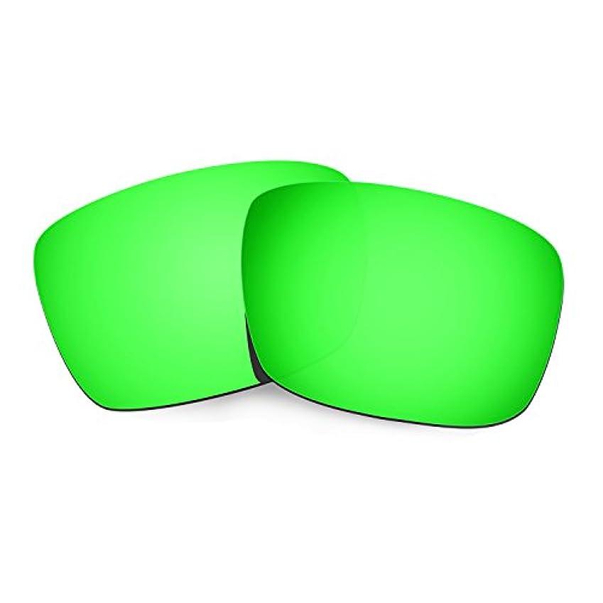 ルートデータベース男らしいHkuco Plus 交換用レンズ Oakley Fuel Cell - マルチオプション型 グリーン 偏光