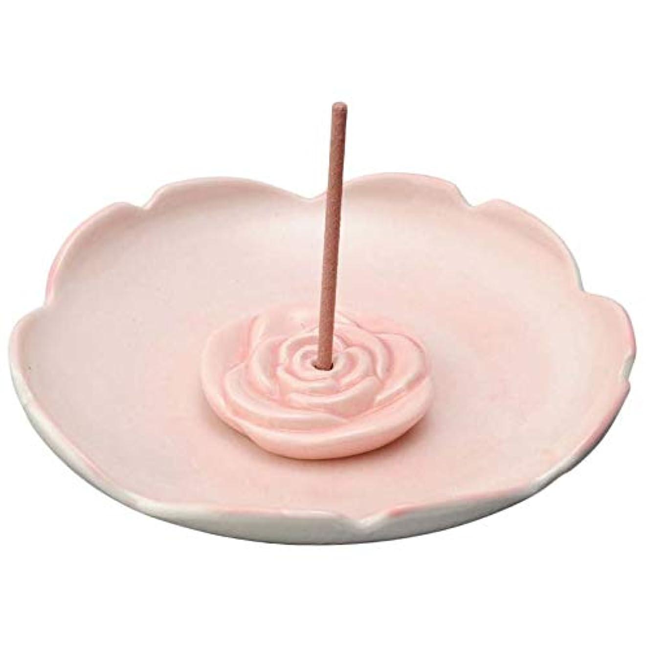 取得モールス信号汚物香皿 香立て/バラ型 香皿/香り アロマ 癒やし リラックス インテリア プレゼント 贈り物