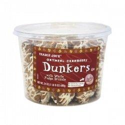 トレーダージョーズ オートミール クランベリー ダンカーズ クッキー Trader Joe's Oatmeal Cranberry Dunkers Cookie[並行輸入品]