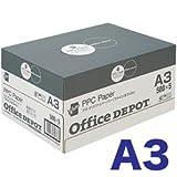 オフィスデポ オリジナル ファインホワイト(高白色コピー用紙) A3 1箱(2500枚)