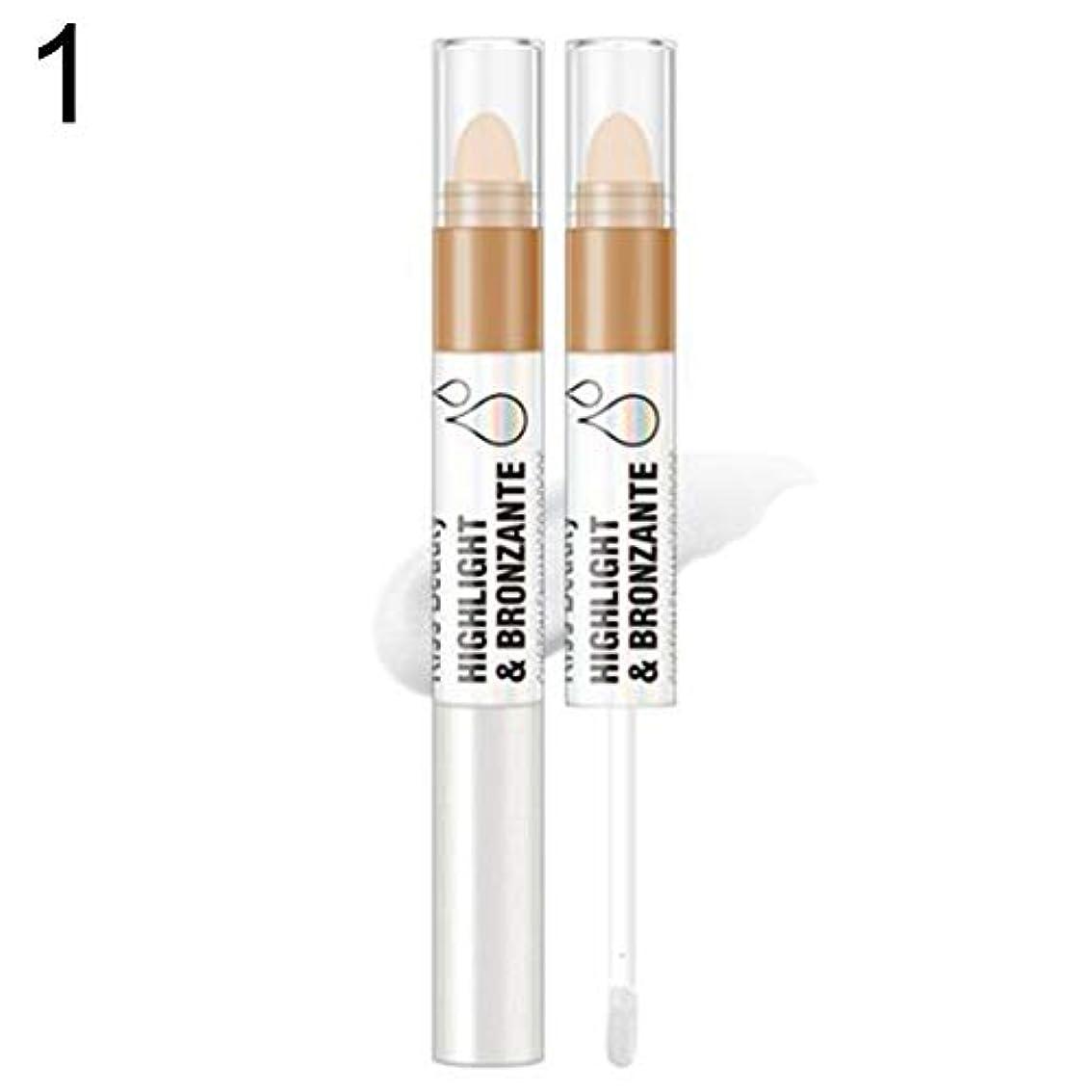 Kissbeauty液体蛍光ペンフェイスグロープライマーオイルコントロールコンターブライトナー - 1