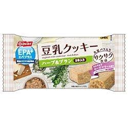 ニッスイ EPA+(エパプラス)豆乳クッキー サクサク食感 ハーブ&ブラン 27gx48個セット