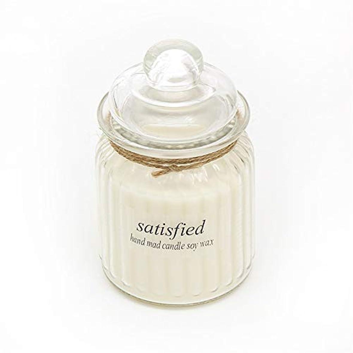 南アメリカ憂鬱やけどGuomao ガラスアロマセラピーガラス無毒環境にやさしい用品キャンドル長持ちする香り (色 : Citrus)