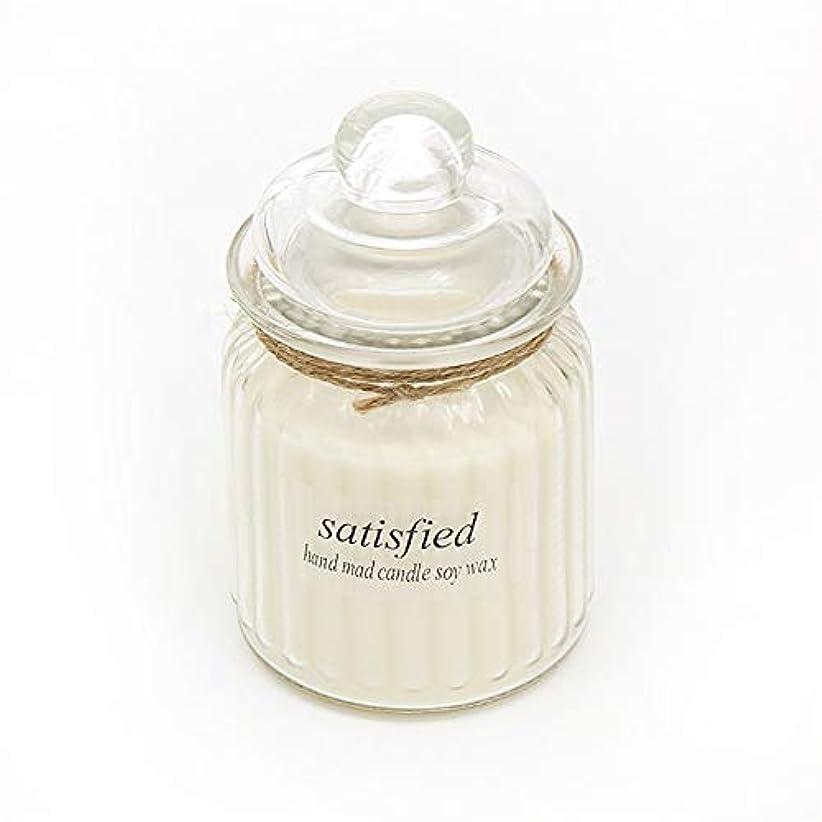 蘇生するがっかりしたメディカルACAO ガラスアロマセラピーガラス無毒環境にやさしい用品キャンドル長持ちする香り (色 : Marriage)