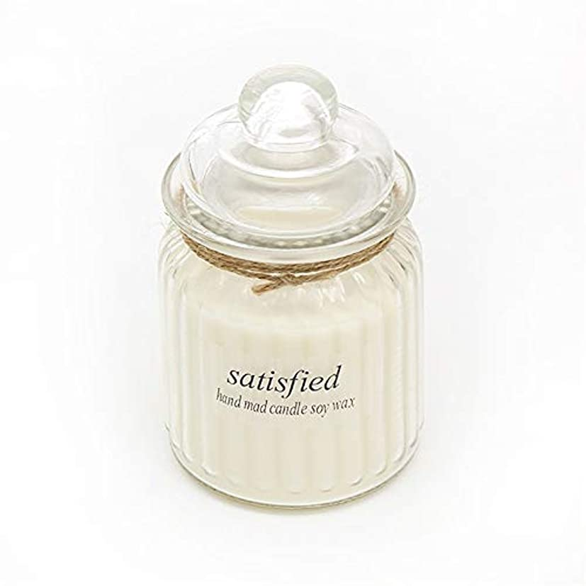 採用毛布元気なGuomao ガラスアロマセラピーガラス無毒環境にやさしい用品キャンドル長持ちする香り (色 : Citrus)