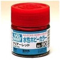 まとめ買い!! 6個セット「水性ホビーカラー クリア-レッド H90」