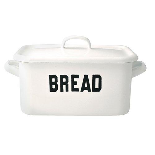 オールドファームハウス Sシリーズ ホーローブレッド缶 BREAD