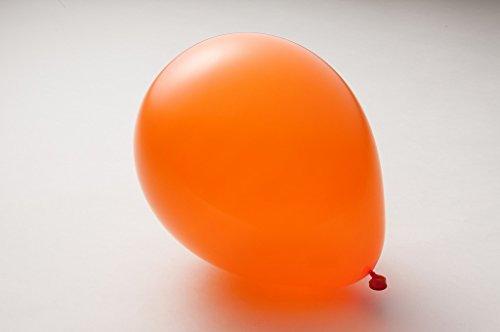 ゴム風船 100個 選べる 全24色 スタンダード パーティ ヘリウム イベント 9インチ(20cm),19.オレンジ