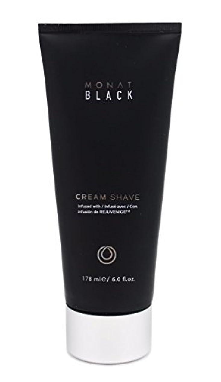 シャーク何もない漂流Monat Mens Black Cream Shave [並行輸入品]