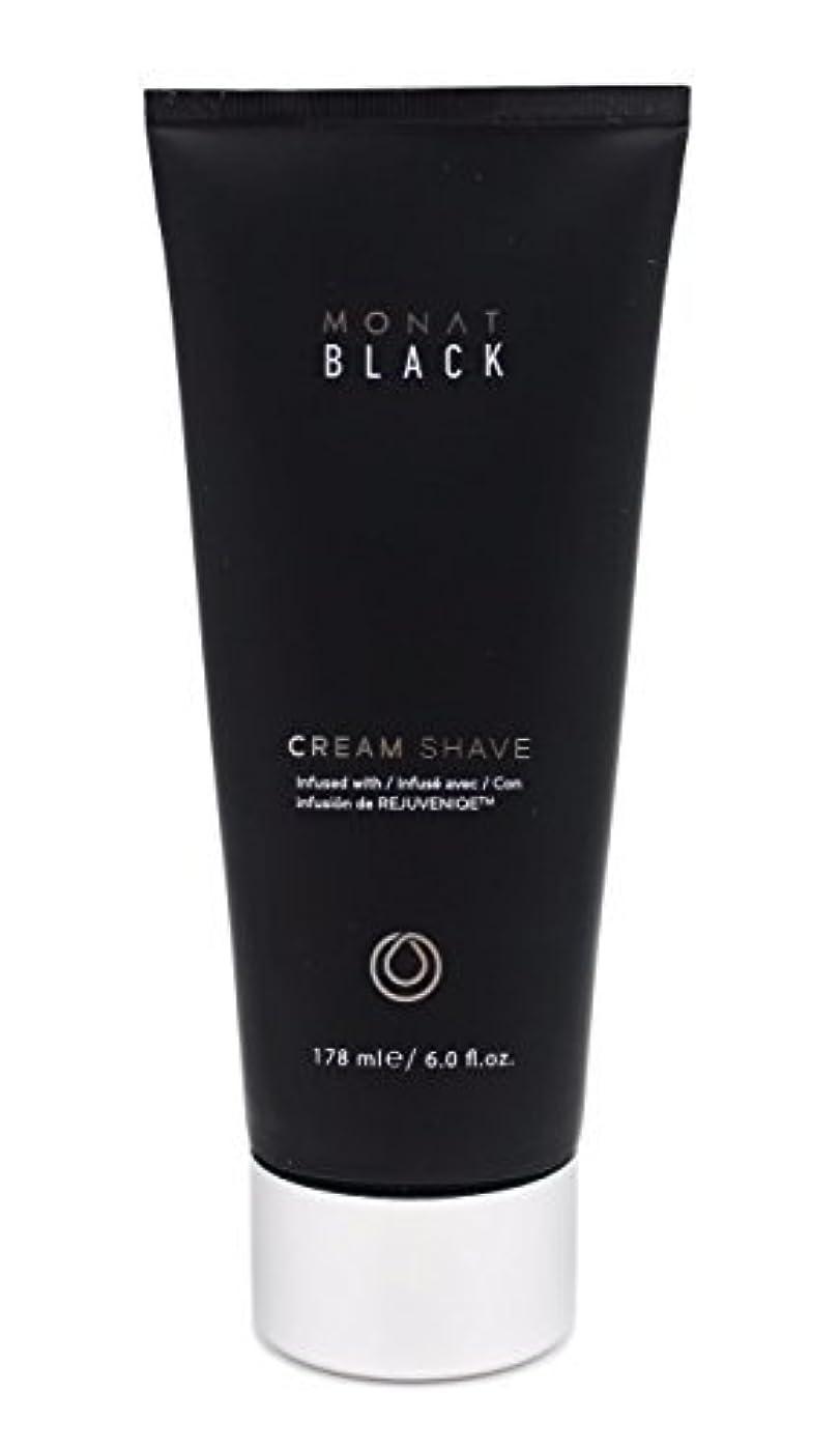 ダッシュ収容する熱望するMonat Mens Black Cream Shave [並行輸入品]