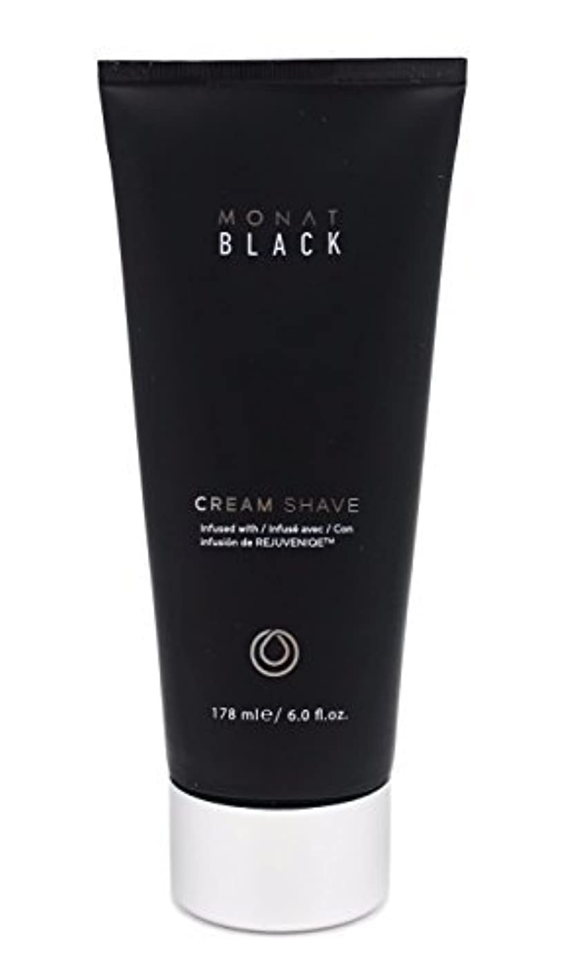 深める球状泥Monat Mens Black Cream Shave [並行輸入品]