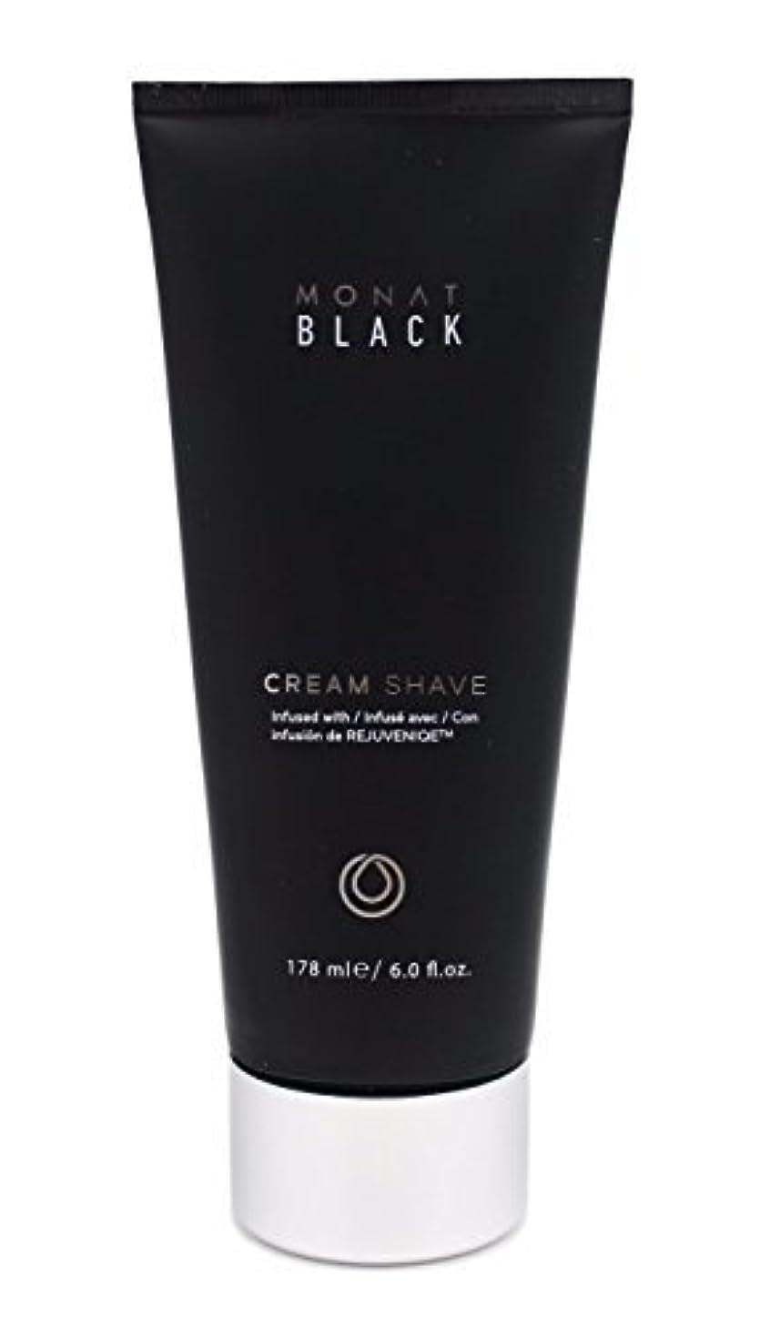 かりて定数祭りMonat Mens Black Cream Shave [並行輸入品]