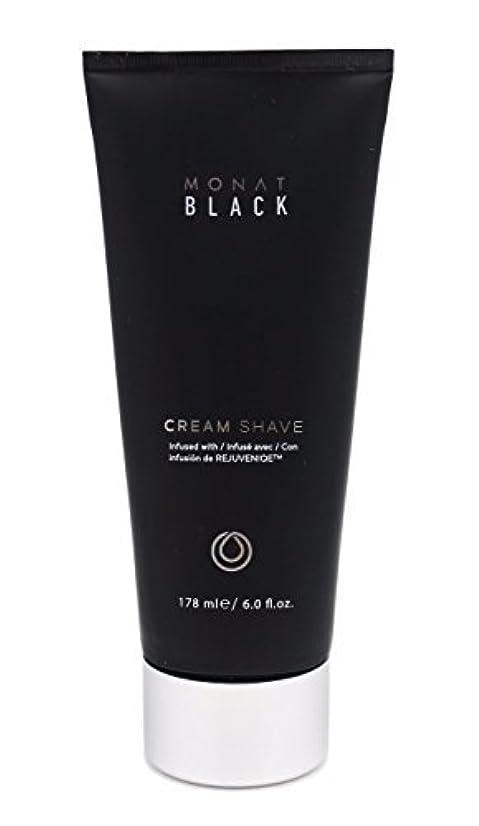 注意レポートを書く無礼にMonat Mens Black Cream Shave [並行輸入品]