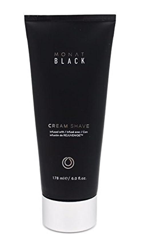 取り消すアヒル発表するMonat Mens Black Cream Shave [並行輸入品]
