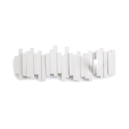 umbra 壁掛けフック ウォールハンガー 収納 フック壁掛け収納 ホワイト 5連 スティックス マルチフック 2318211-660