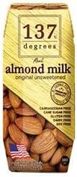 HARUNA(ハルナ) 137ディグリーズ アーモンドミルク 甘味不使用 180ml紙パック×36本入×(2ケース)