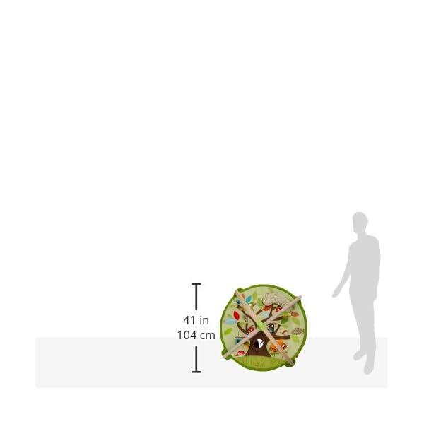 SKIP HOP プレイマット ツリートップフ...の紹介画像7