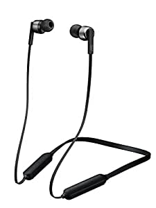 JVC HA-FX67BT-B ワイヤレスイヤホン Bluetooth対応/高音質/生活防水/連続7時間再生/ソフトバンド採用/マグネット内蔵 ブラック