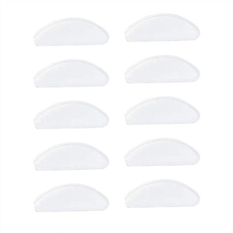封建閉じ込める帳面SUPVOX 25ペアシリコンメガネ鼻パッド粘着ノンスリップノーズパッド用メガネサングラスプラスチックメガネプラスチックフレーム