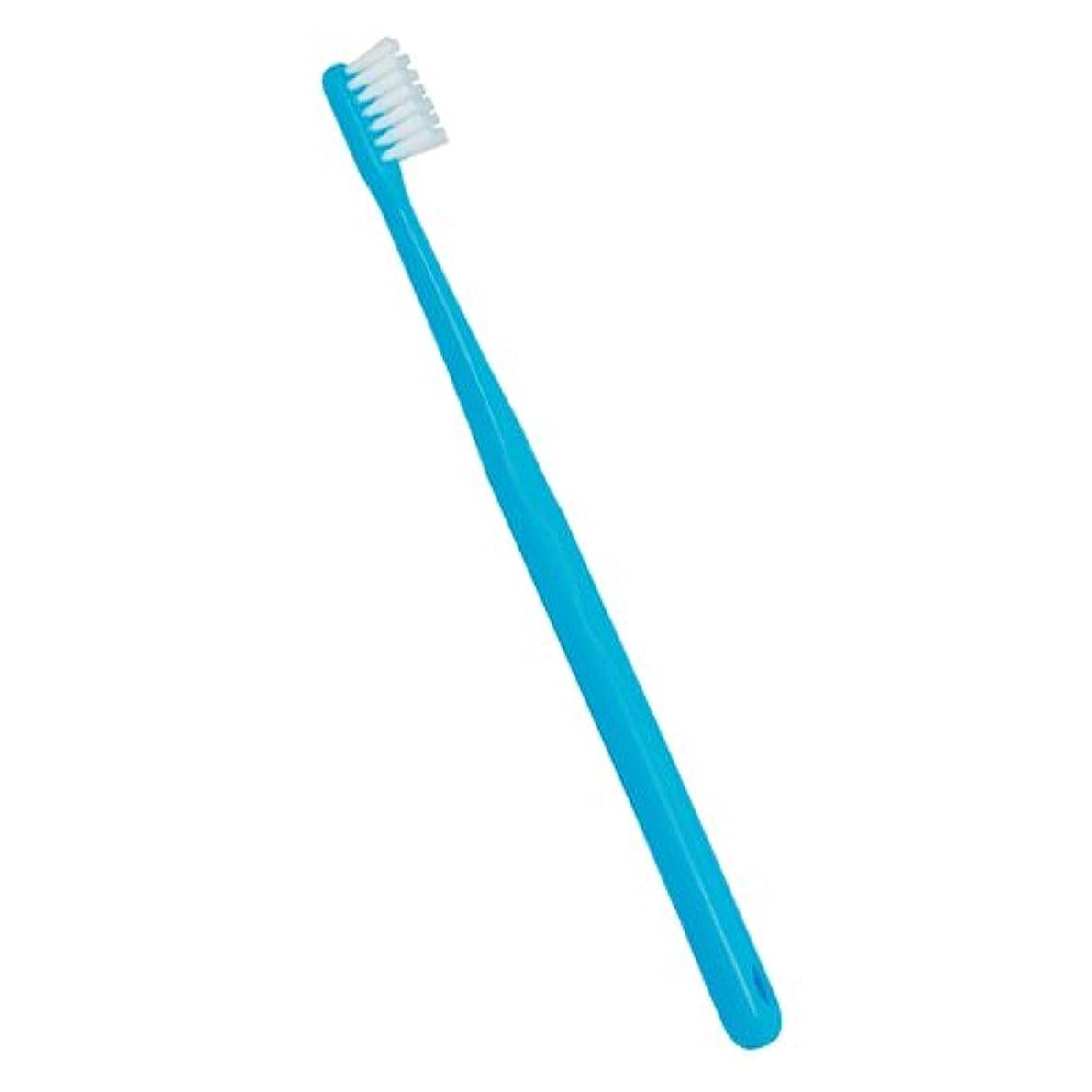 染色サージ寄付するCiメディカル 歯ブラシ Ci702(フラットタイプ) 1本(M ふつう(ブルー))